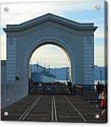 Archway Pier 39 San Francisco Acrylic Print