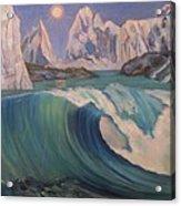 Arctic Ocean Glaciers Acrylic Print