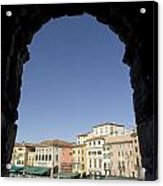Arena Arch Verona Acrylic Print
