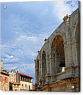 Arena In Arle Provence France Acrylic Print