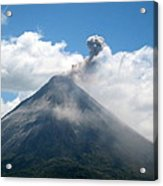 Arenal Eruption Acrylic Print