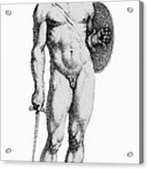 Ares, Greek God Of War Acrylic Print