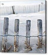 Aresquiers Beach Acrylic Print