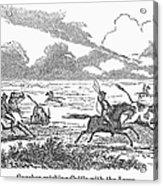 Argentina: Gauchos, 1853 Acrylic Print