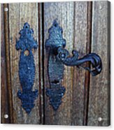Argentinian Door Decor 1 Acrylic Print