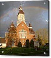 Argyle Presbyterian Church Acrylic Print by Mark Haley
