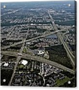 Ariel View Of Orlando Florida Acrylic Print