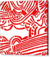 Arise  Les Paul Acrylic Print