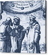 Aristotle, Ptolemy And Copernicus Acrylic Print
