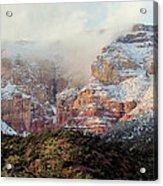 Arizona Snowstorm Acrylic Print