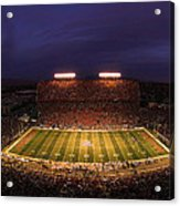 Arizona Stadium Under The Lights Acrylic Print by J and L Photography