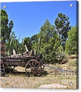 Arizona Wagon Acrylic Print