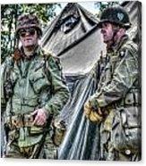 Army Life Acrylic Print by Dan Crosby
