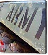 Army Acrylic Print