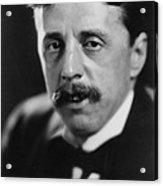 Arnold Bennett 1867-1931 Versatile Acrylic Print by Everett