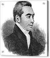 Arnold Buffum (1782-1859) Acrylic Print
