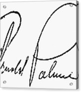 Arnold Palmer (1929-  ) Acrylic Print