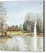 Arnot Hill Park Acrylic Print