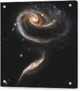 Arp 273 Interacting Galaxies Acrylic Print