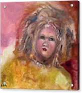 Arranbee Nancy Lee Doll Acrylic Print by Susan Hanlon