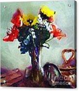 Arrangement Romantica Acrylic Print