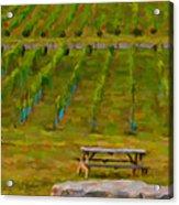 Arrington Vineyards Acrylic Print