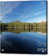 Arrow At Summit Lake Acrylic Print
