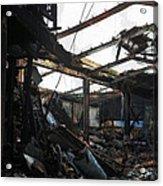 Arson Is Never Very Pretty Acrylic Print