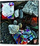 Art Amongst The Rubble Acrylic Print