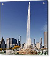 Art Deco Buckingham Fountain Chicago Acrylic Print