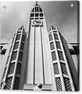 Art Deco Church Acrylic Print