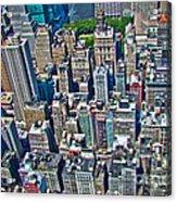 Art Deco New York City Acrylic Print