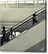 Art Escalator Acrylic Print