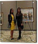 Art Exhibit Paintings Acrylic Print