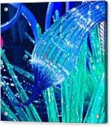 Art Glass In Turquoise Acrylic Print