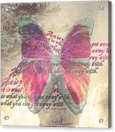 Art Is ..... Acrylic Print