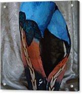 Art On The Palm Acrylic Print