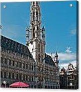 Art Reflecting Art In Brussels Acrylic Print