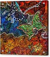 Art Therapy Acrylic Print