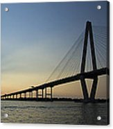 Arthur Ravenel Jr Bridge Over The Cooper River Charleston Sc Acrylic Print
