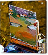 Artist At Work Acrylic Print