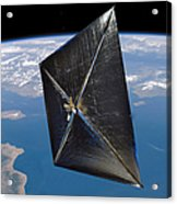 Artist Concept Of Nanosail-d In Space Acrylic Print