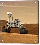 Artist Concept Of Nasas Mars Science Acrylic Print
