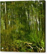 Artistic Water Reflections Acrylic Print
