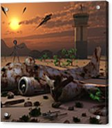 Artists Concept Of A Science Fiction Acrylic Print