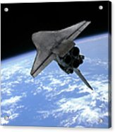 Artists Concept Of A Space Shuttle Acrylic Print
