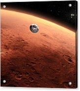 Artists Concept Of Nasas Mars Science Acrylic Print