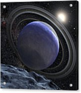 Artists Illustration Of An Extrasolar Acrylic Print