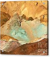 Artists Palette Death Valley Acrylic Print
