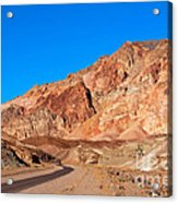 Artists Palette Death Valley California Acrylic Print